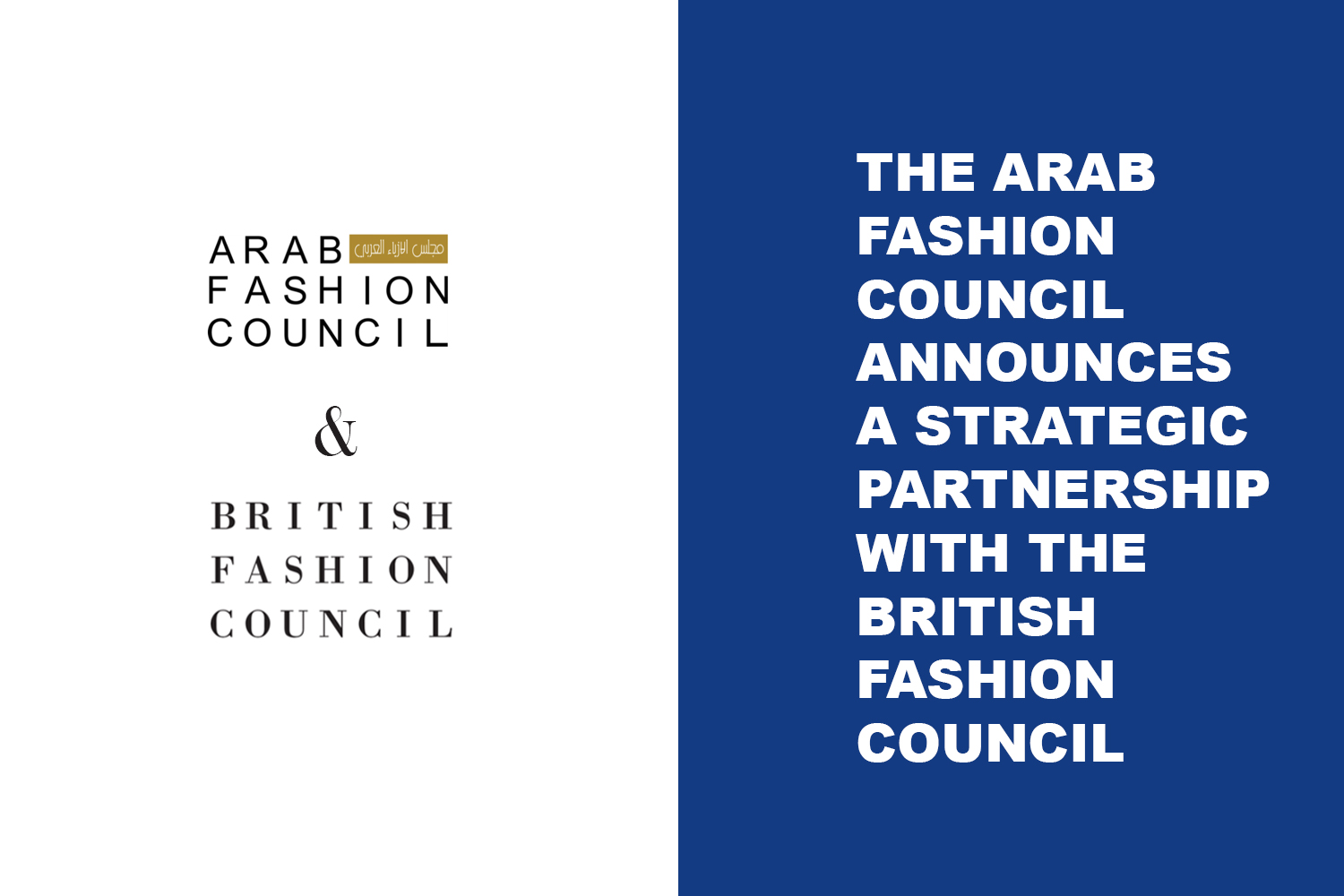 Arab Fashion Week - Arab Fashion Council - British Fashion Council
